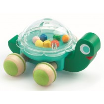 Djeco Rattle Toy Sliding Figure Turtle Lola