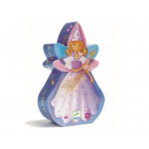 Djeco Silhouette Puzzle: The Fairy and the Unicorn