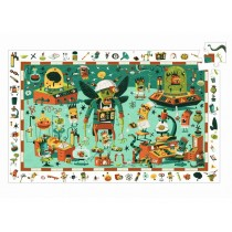 Djeco Observation Puzzle Crazy Lab