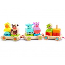 Djeco pull-along activity tractor