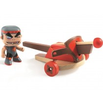 Djeco Arty Toys Knight KLUTE with CROSSBOW