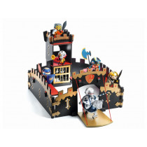Djeco Arty Toys Knights ZE BLACK CASTEL