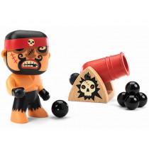 Djeco Arty Toys Pirates RICK & BOUMCRACK