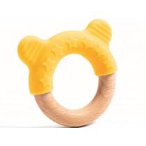 Djeco Baby White Teething Ring BABYCHEW