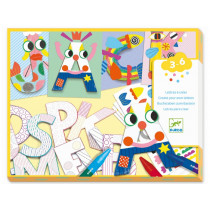 Djeco 3-6 Design TINKER with LETTERS