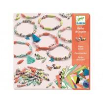 Djeco Paper Beads Spring Bracelets