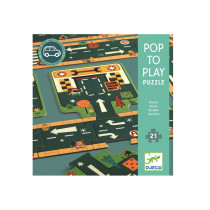 Djeco Floor Puzzle STREET