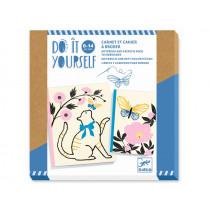 Djeco DIY Notebooks POETIC GARDEN