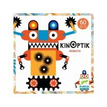 Djeco Kinoptik ROBOTS 60 Pieces
