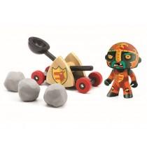 Djeco Arty Toys Knight BALDY & BIG PAF