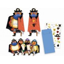 Djeco Invitation Cards PIRATES