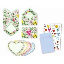 Djeco Invitation Cards HEARTS