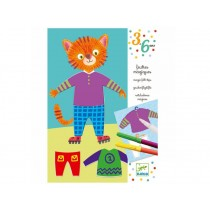 Djeco Magic felt-tips: Elliot and Zoe's clothes