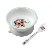 Petit Jour Melamine Baby Bowl and Spoon ELMAR