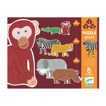 Djeco Educational Games First Puzzle HENRI & FRIENDS