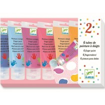 Djeco 6 Finger Paint Tubes SWEET