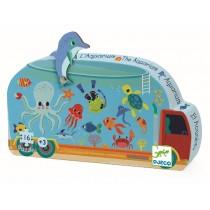 Djeco Silhouette Puzzle: Aquarium