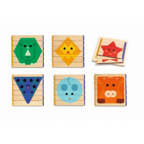 Djeco Wooden Puzzle PUZZLES BASIC