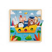 Djeco Wooden Puzzle PUZZLO BOAT