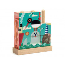 Djeco Wooden Puzzle PUZZ-UP SEA