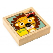 Djeco Cube Puzzle Tournanimo