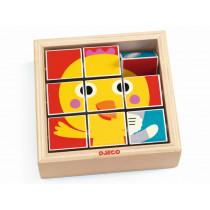 Djeco Wooden Puzzle TOURNIFARM
