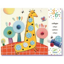 Djeco 3-6 Design Collages for Infants So Pop
