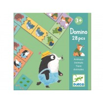 Djeco Learning Game Domino ANIMALS