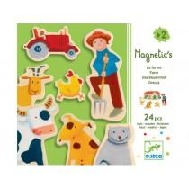Djeco magnetic game Farm