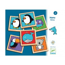 Djeco learning game Memo Nimo