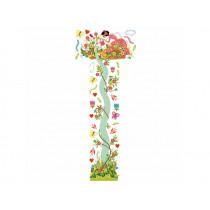 Djeco growth chart YOUNG GIRL IN THE GARDEN