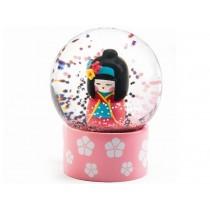 Djeco Mini Snow Globe GEISHA