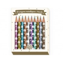 Djeco Mini Metalic Pencils CHIC
