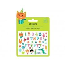 Djeco Mini stickers BIRTHDAY