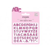 Djeco Mini stickers GLITTER LETTERS