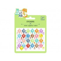 Djeco Mini stickers SALOON LETTERS