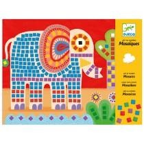 Djeco mosaic elephant and snail