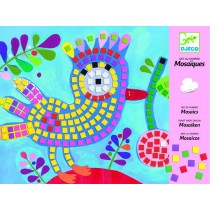 Djeco mosaic bird and ladybird