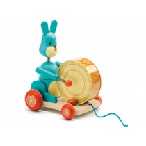 Djeco pull along toy Bunny boum