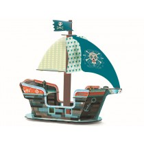 Djeco pop to play Pirate Boat
