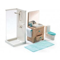 Djeco dollhouse bathroom