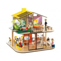Djeco dollhouse colour house