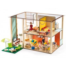 Djeco dollhouse cubic house