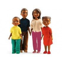 Djeco doll family of Milo & Mila