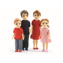 Djeco doll family of Thomas & Marion