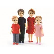 Djeco doll family of Thomas & Marion