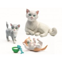 Djeco dollhouse Cats