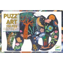 Djeco Puzzle Puzz'Art ELEPHANT (150 pcs.)