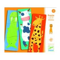 Djeco puzzle 1.2.3 animo