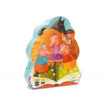 Djeco Puzzle THE THREE LITTLE PIGS (24 pieces)